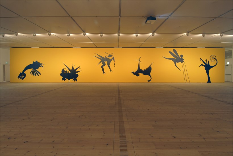 Mona Marzouk: The Bride Stripped Bare By Her Energy's Evil: Installation Shot (06)