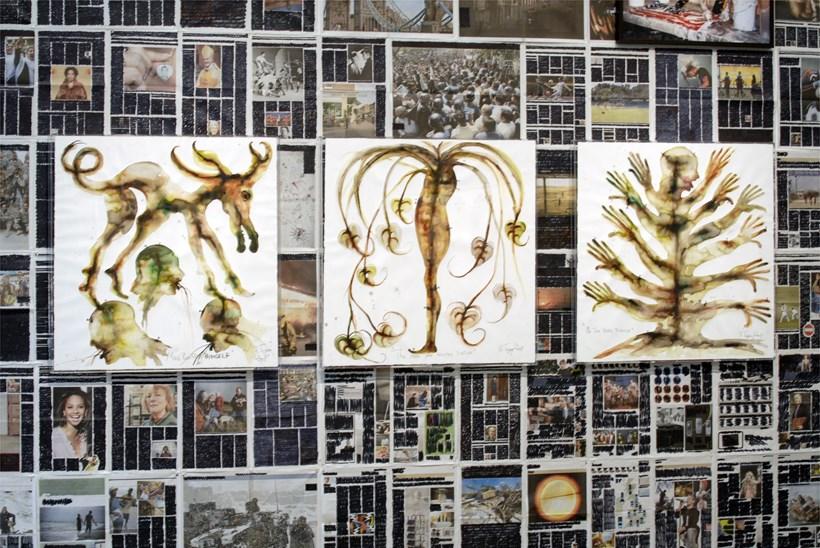 Barthelemy Toguo: Heart Beat: Installation image (10)