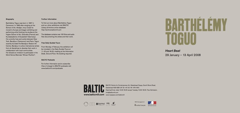 Barthélémy Toguo: Heart Beat: Exhibition Guide