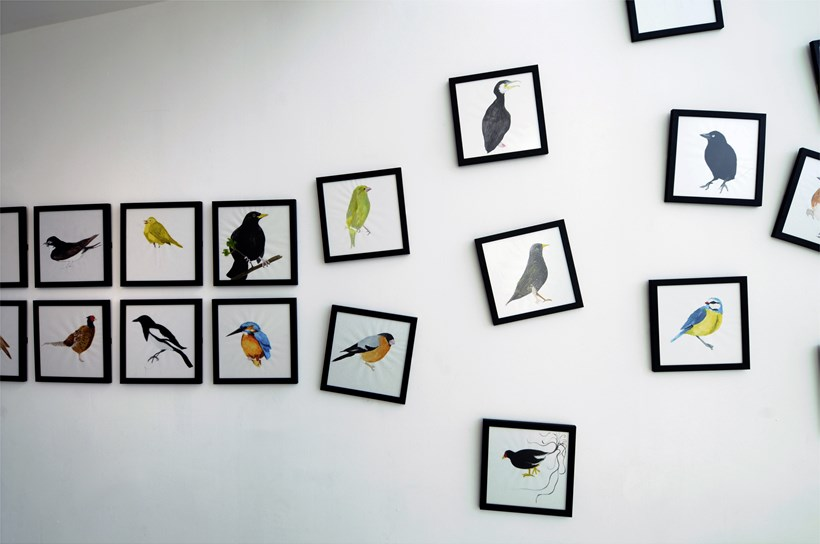 Karen Davies:The Enchanted Moment: Exhibition Shot (01)
