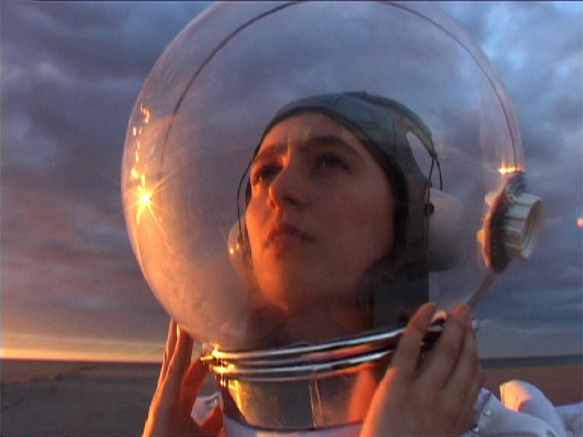 Zoë Walker and Neil Bromwich: Limbo-land: Helmet