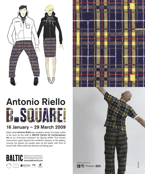 Antonio Riello: B.Square!: Advertisement