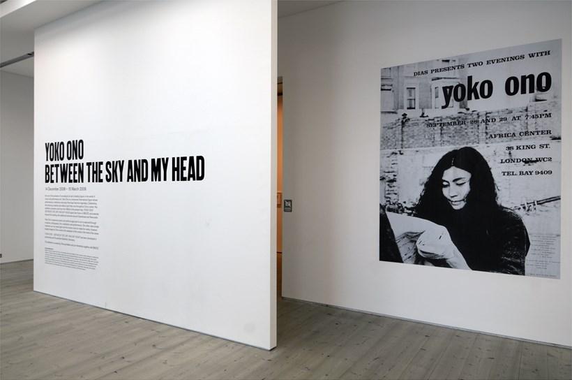 Yoko Ono: Between the Sky and My Head: Exhibition image (12)