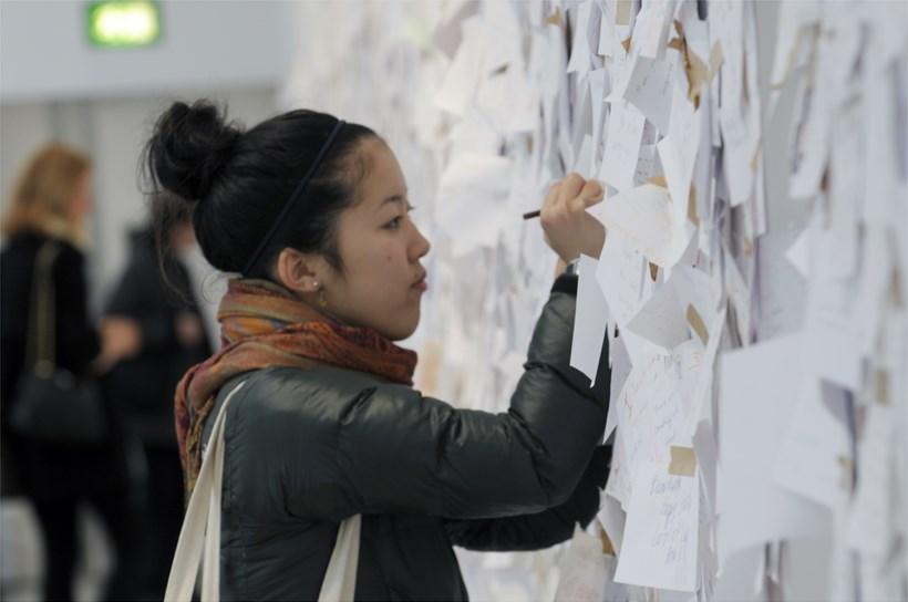 Yoko Ono: Between the Sky and My Head: Exhibition image (13)