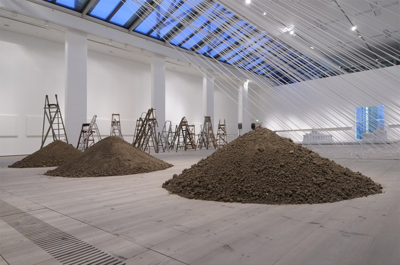 Yoko Ono: Between the Sky and My Head: Three Mounds and Skyladders