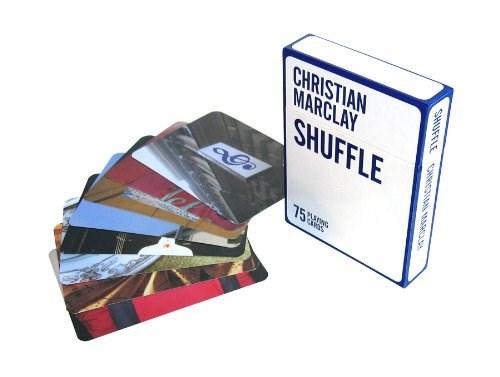 Christian Marclay : Shuffle (Card Book)