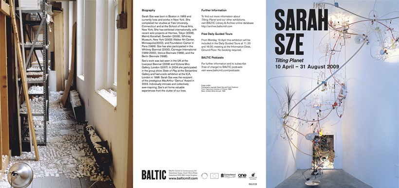 Sarah Sze: Tilting Planet: Exhibition Guide