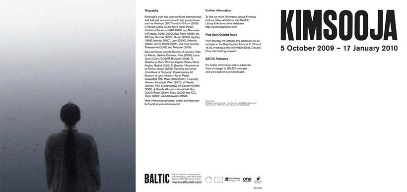 Kimsooja: Exhibition Guide
