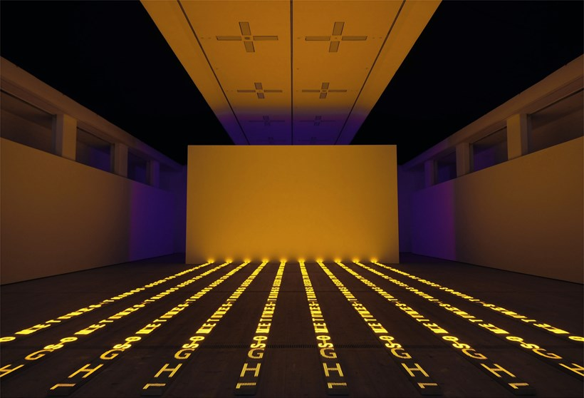 Jenny Holzer: Protect Protect: Exhibition Image (01)