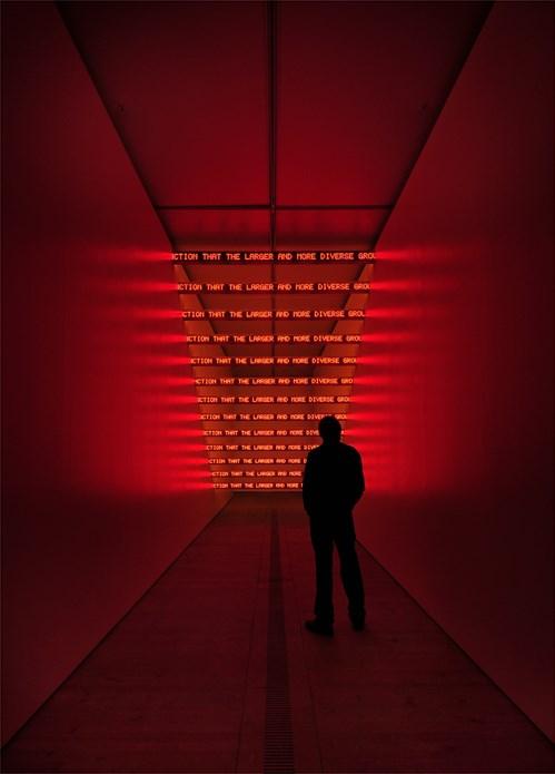 Jenny Holzer: Protect Protect: Exhibition Image (15)