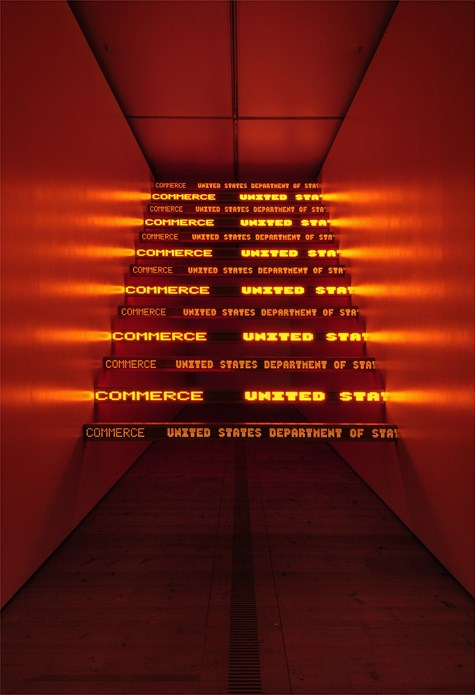 Jenny Holzer: Protect Protect: Exhibition Image (17)