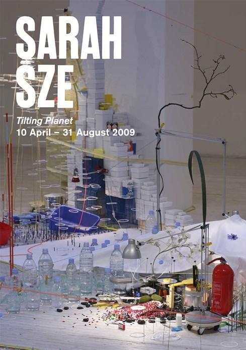 Sarah Sze: Tilting Planet: Promotional Postcard