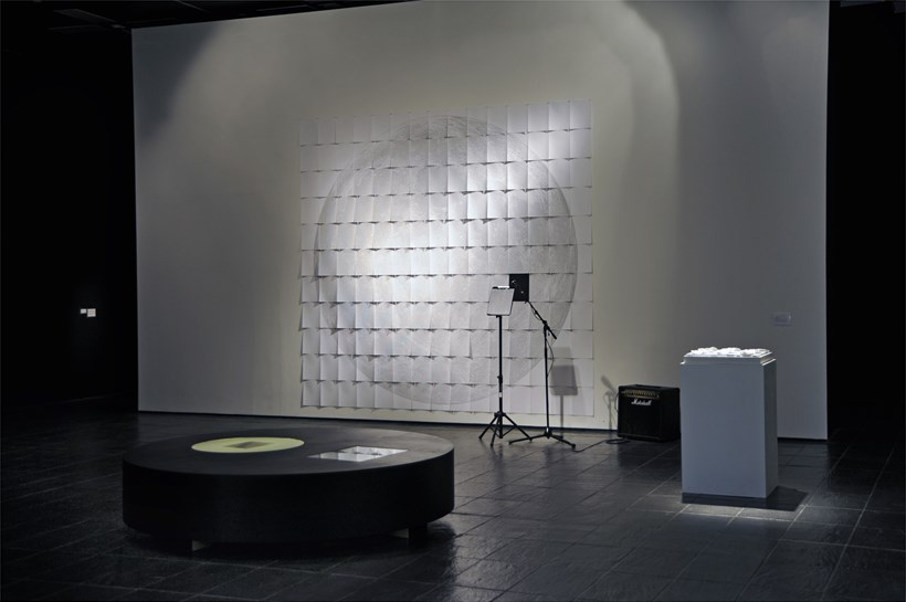 Cage Mix: Sculpture & Sound: Installation shot (08)