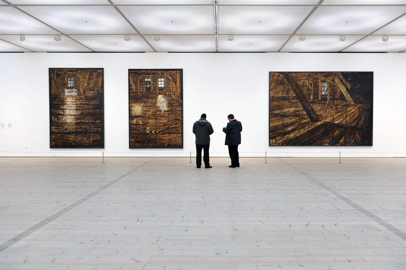 Anselm Kiefer: Artist Rooms: Parsifal I, II and III, 1973