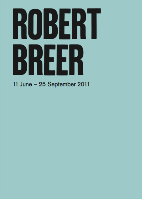 Robert Breer: Exhibition Guide