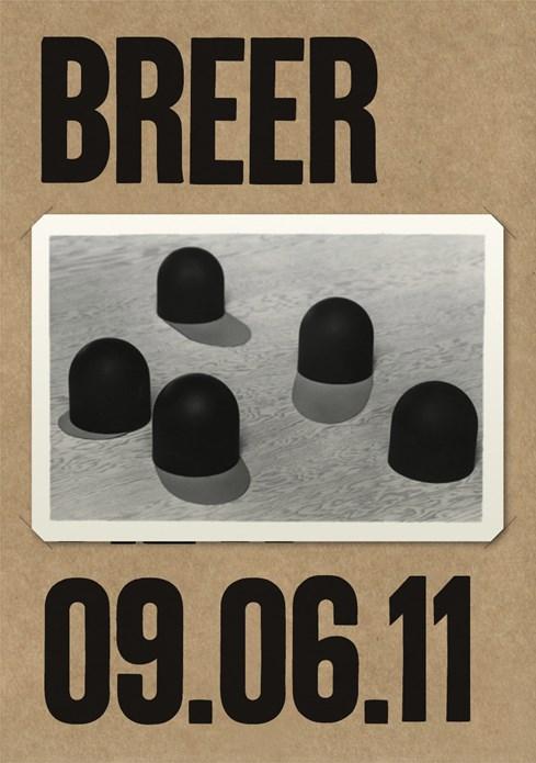 Robert Breer: Private View Card