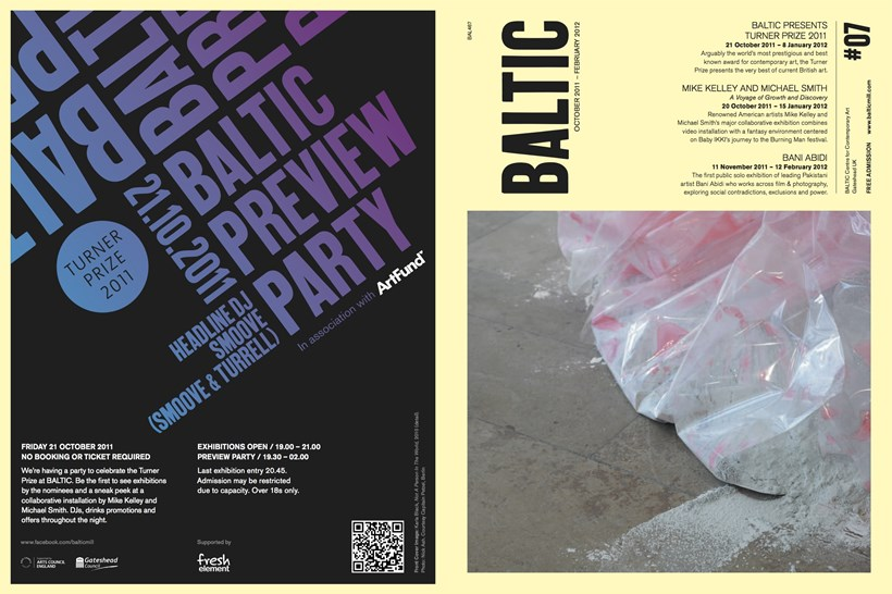 BALTIC What's on Guide (11/03) October 2011 - February 2012