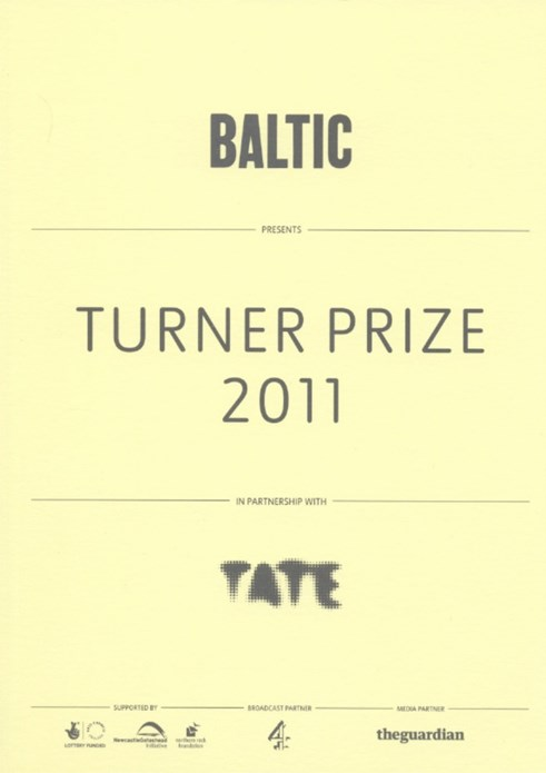 Turner Prize 2011: Private View Invitation
