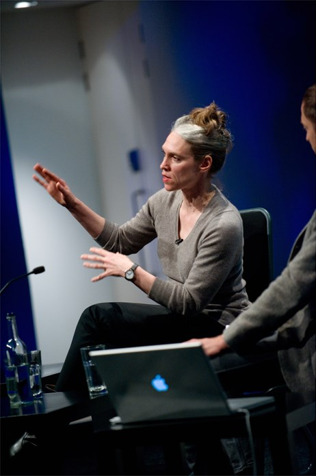 Turner Prize Talks: Hilary Lloyd (01)