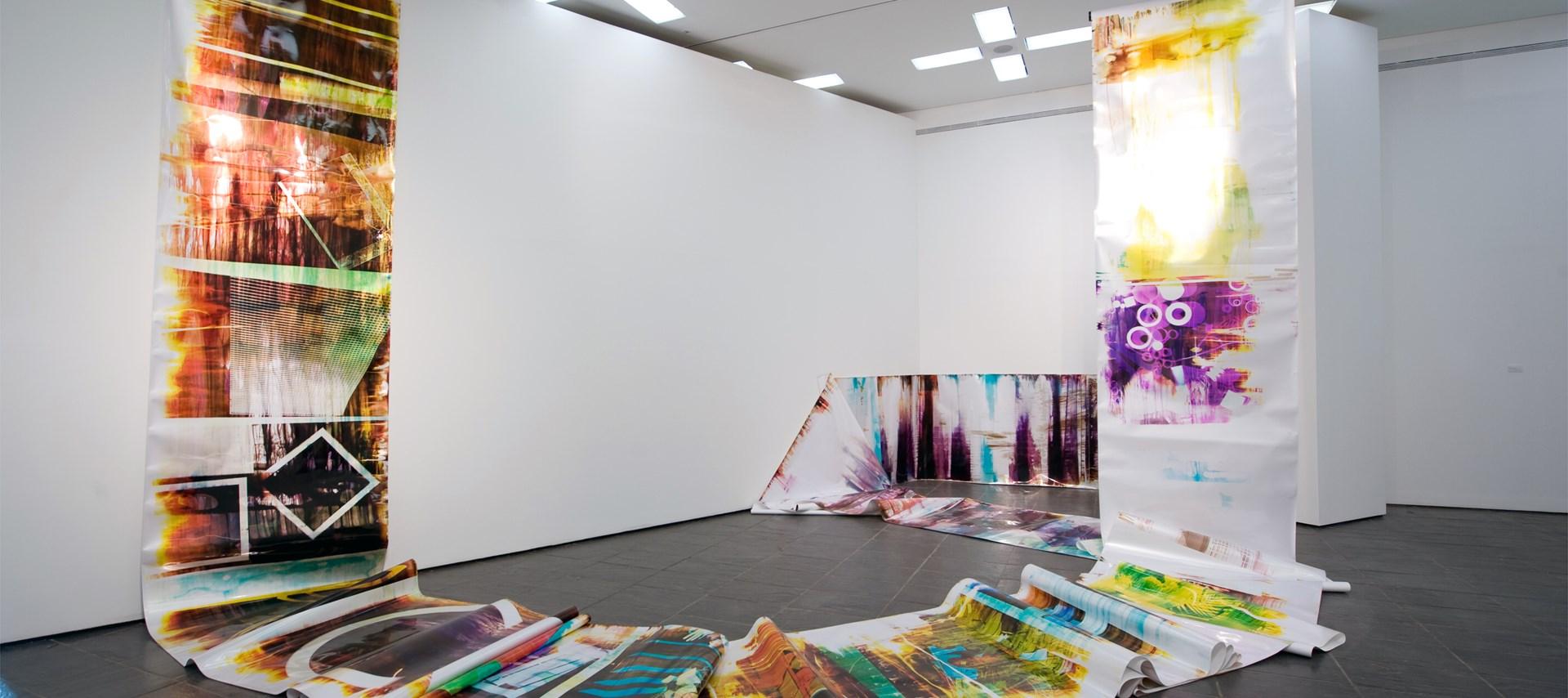 Mariah Robertson: Installation image by Colin Davison
