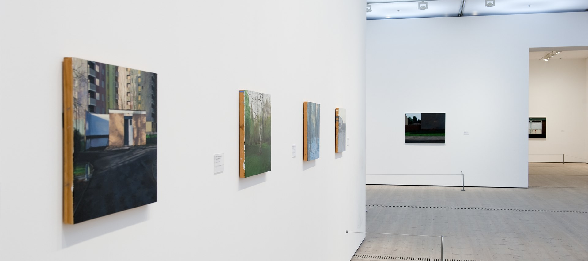 George Shaw: The Sly and Unseen Day: Exhibition Image by Colin Davison