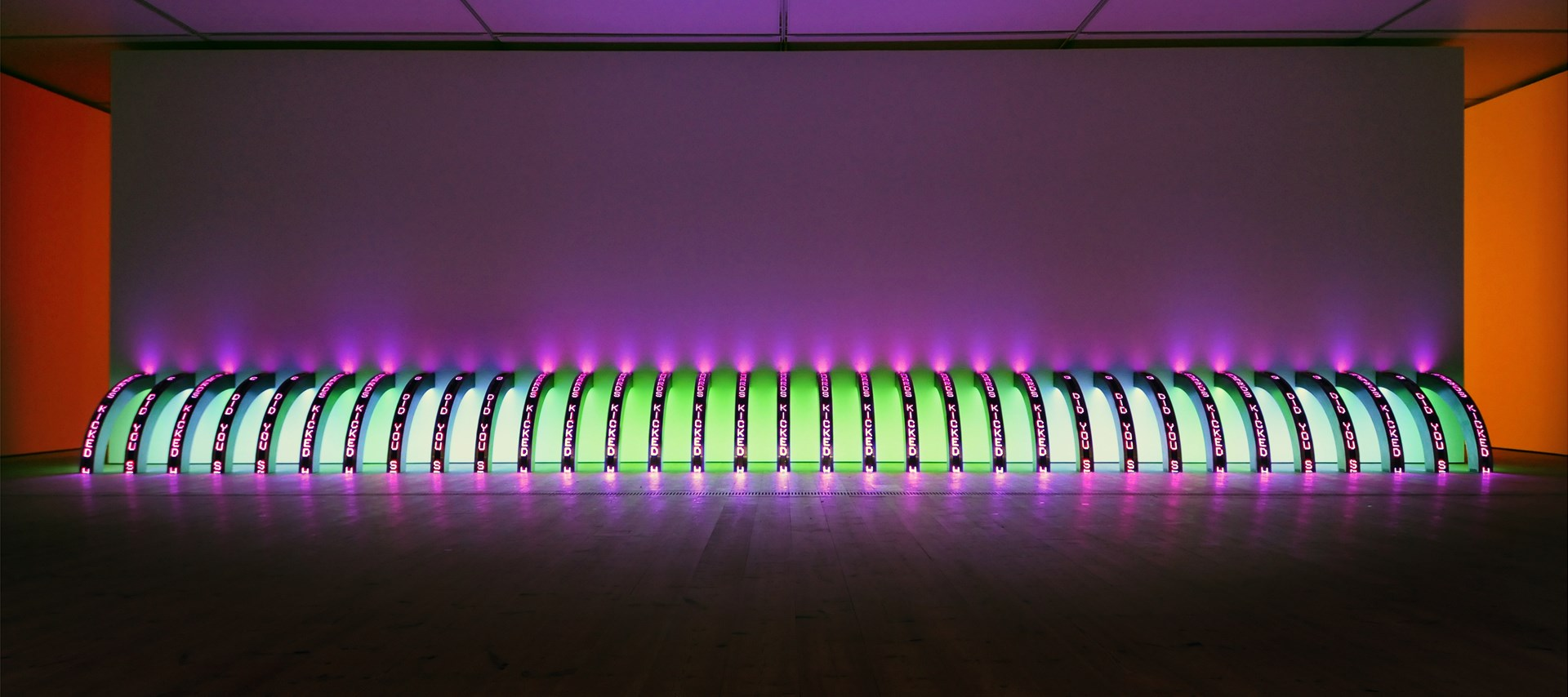 Jenny Holzer: Protect Protect: Exhibition Image (12)