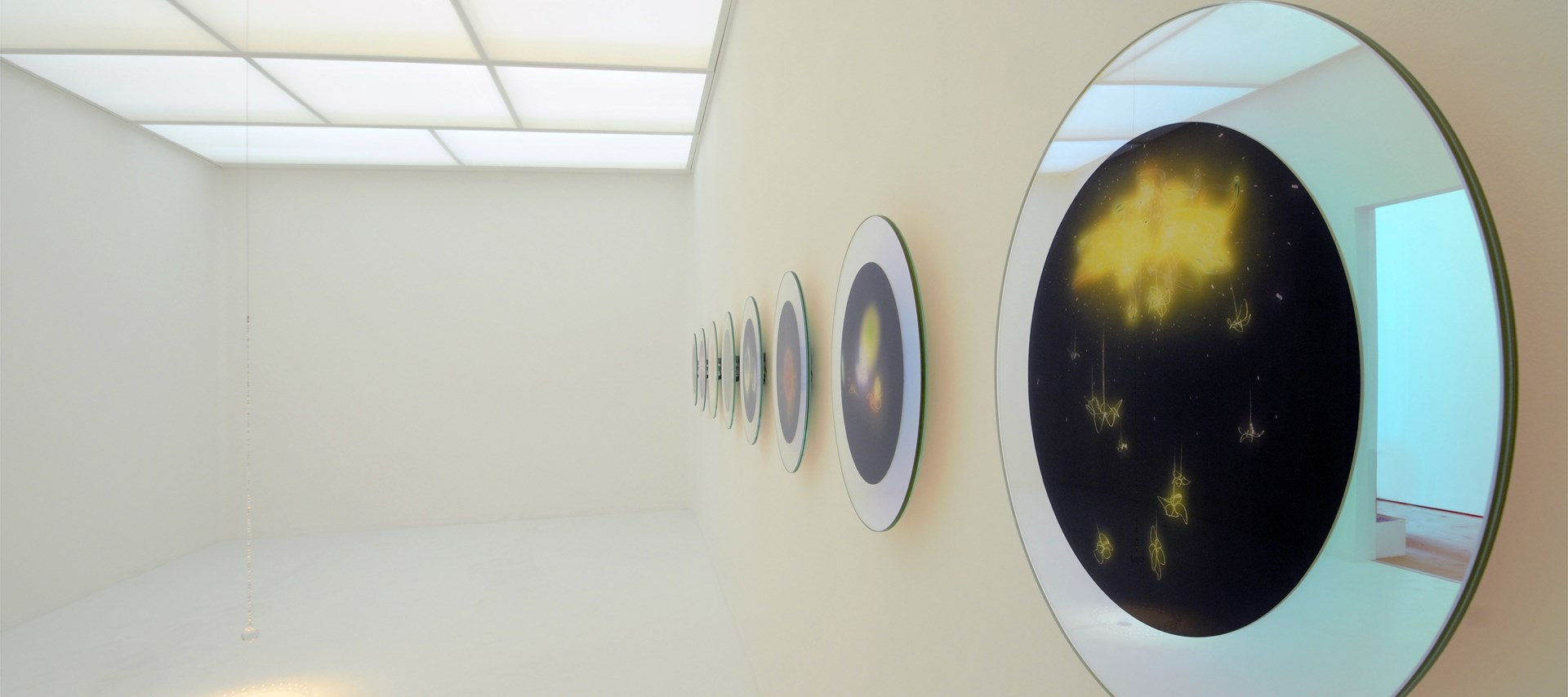 Mariko Mori: Exhibition image by Colin Davison