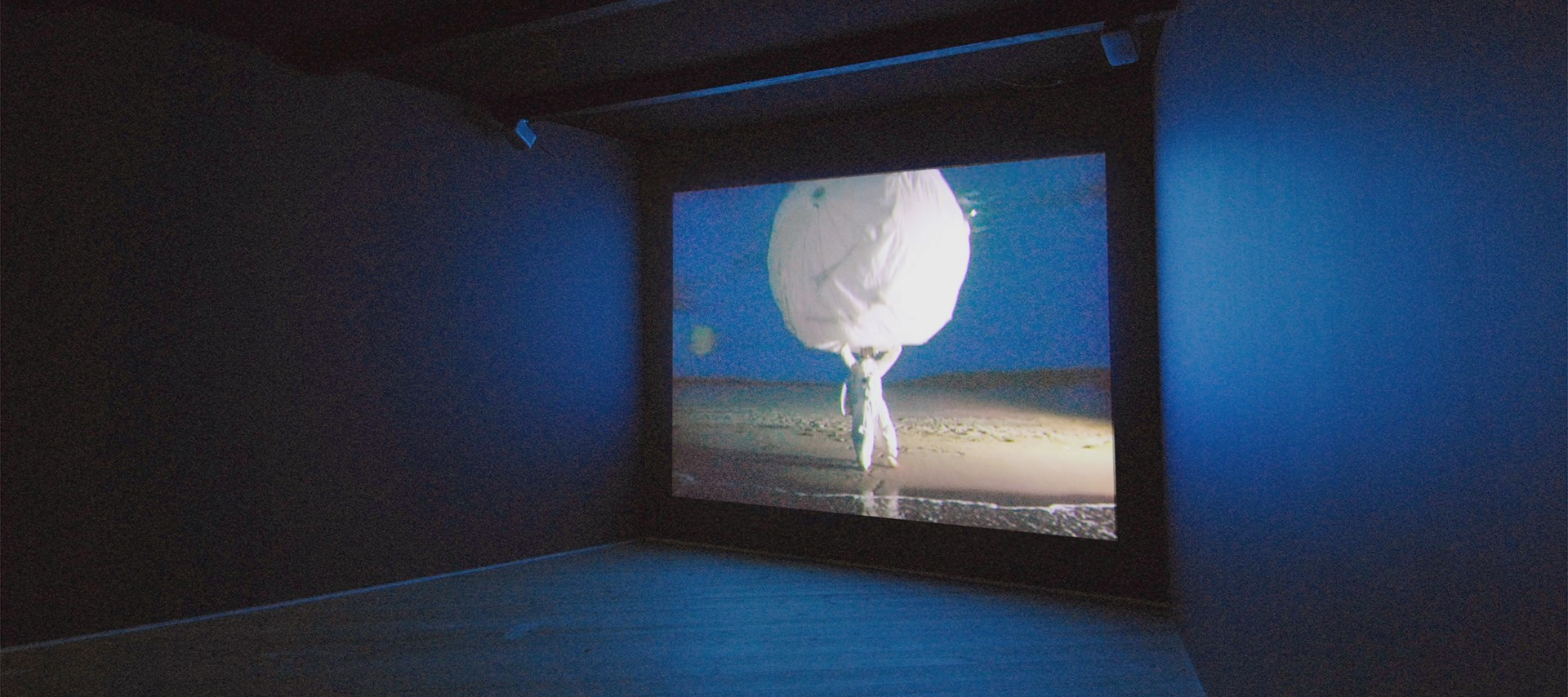 Zoë Walker and Neil Bromwich: Limbo-land: Installation Shot by Colin Davison