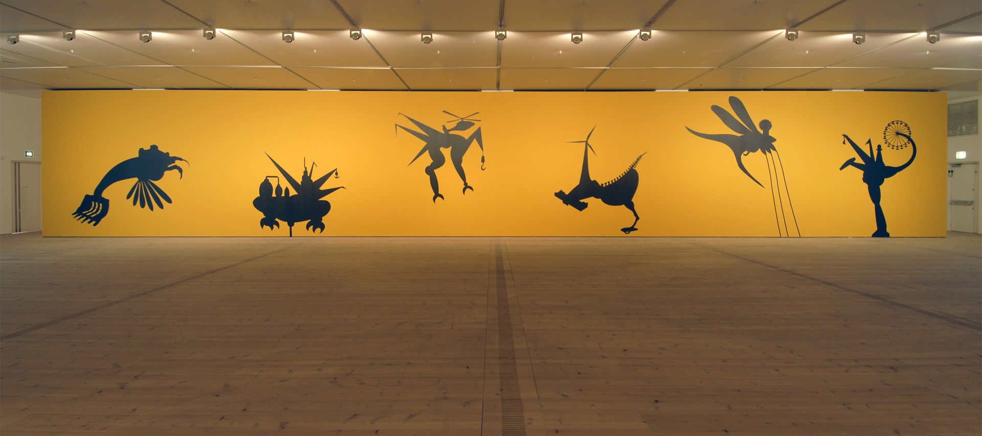 Mona Marzouk: The Bride Stripped Bare By Her Energy's Evil: Installation Shot by Colin Davison