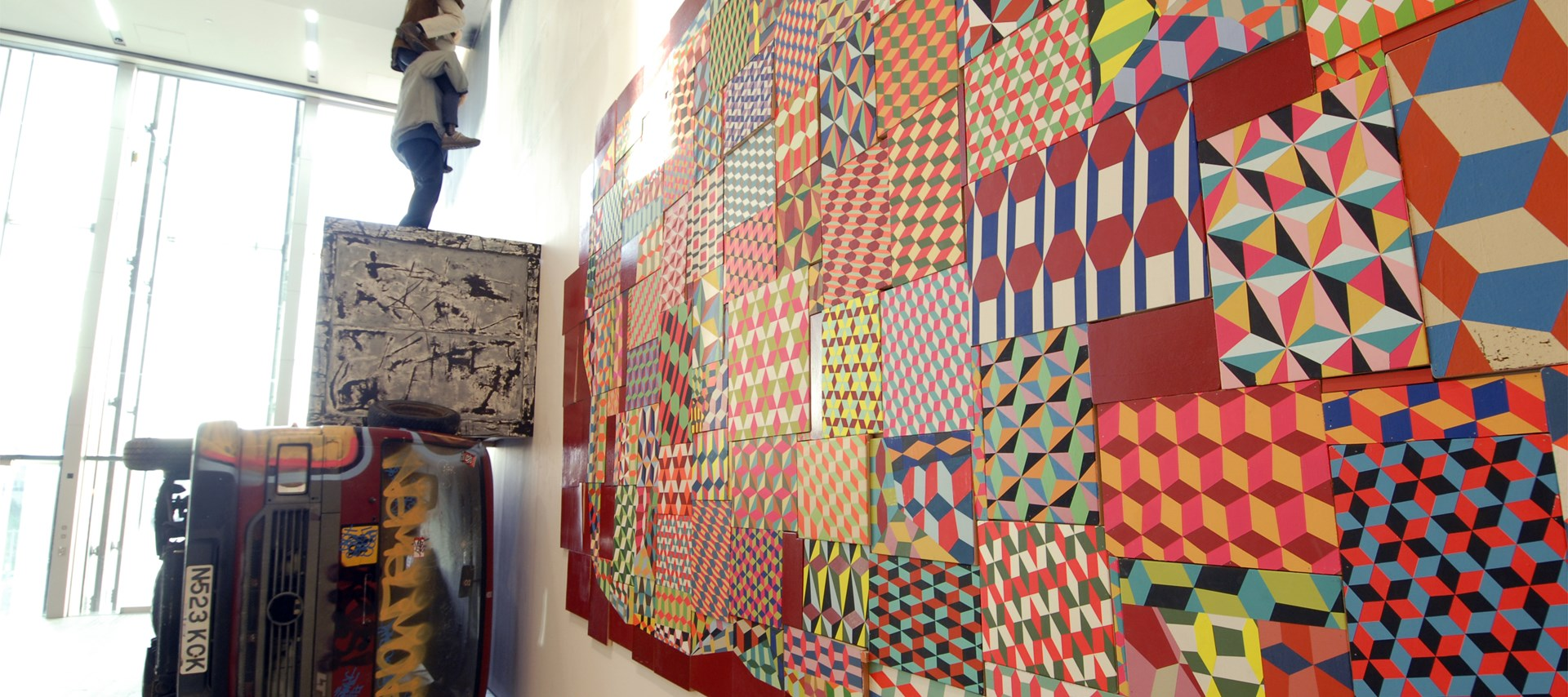 Barry McGee: They Don't Make This Anymore: Exhibition Shot by Colin Davison