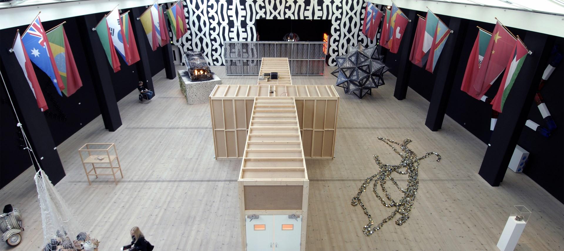 Kendell Geers: Irrespektiv: Exhibition image by Colin Davison