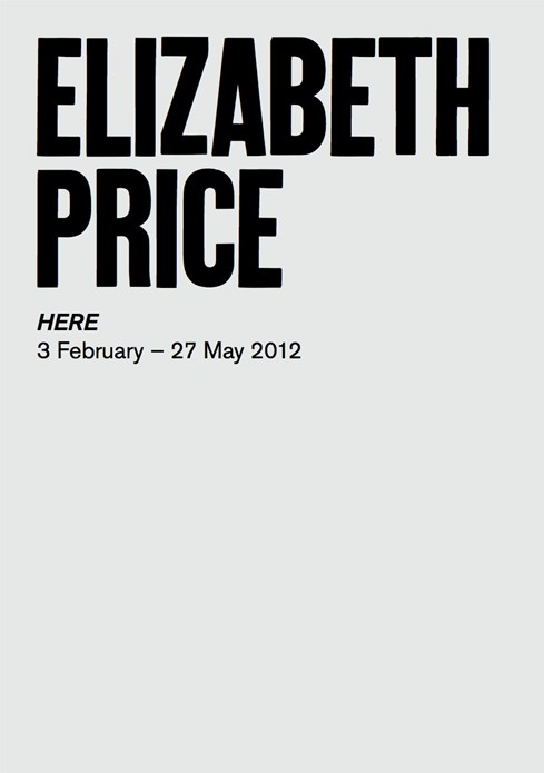 Elizabeth Price: HERE: Exhibition Guide