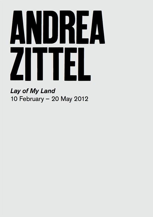 Andrea Zittel: Lay of My Land: Interpretation Guide