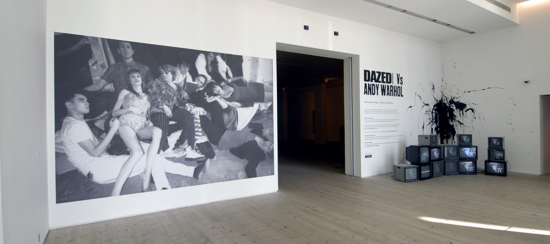 Dazed & Confused Vs Andy Warhol: Installation shot by Colin Davison