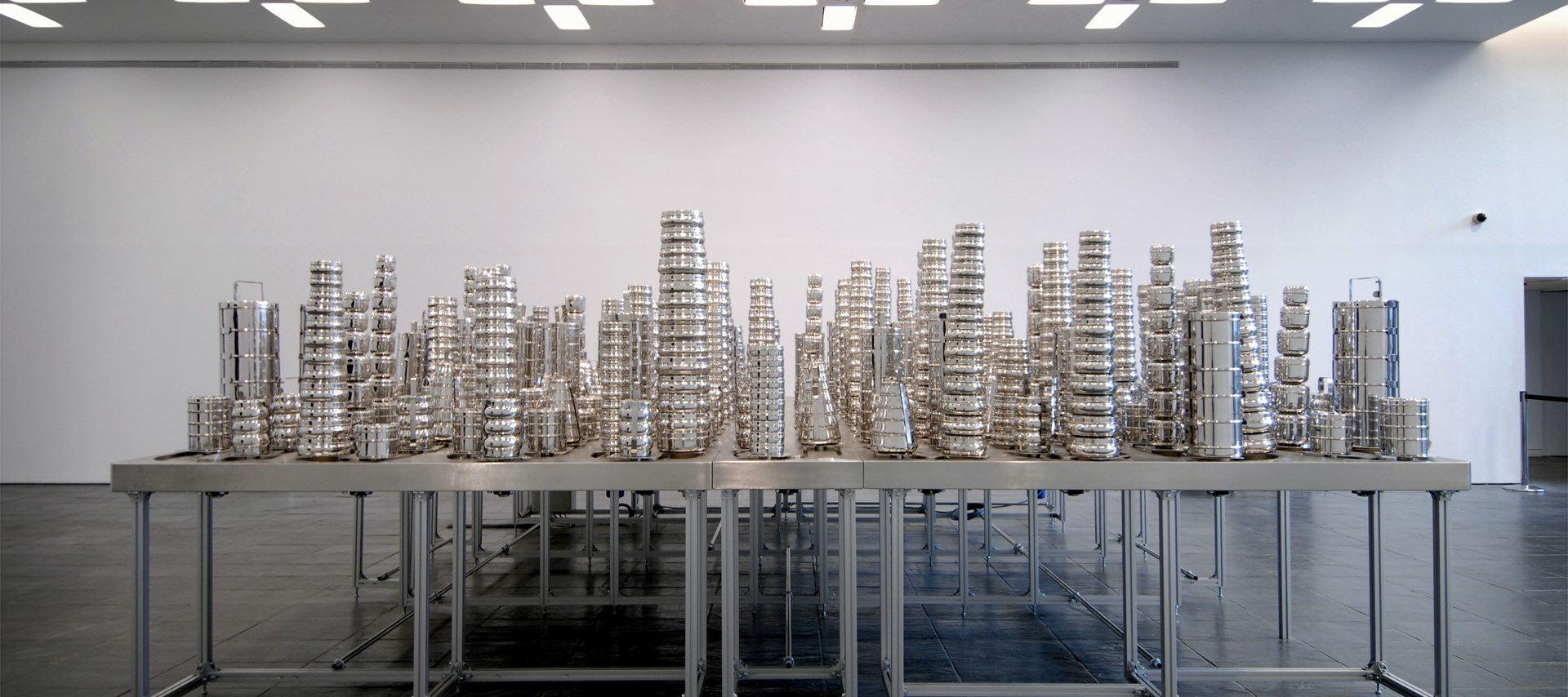 Subodh Gupta: Silk Route: Installation shot by Colin Davison