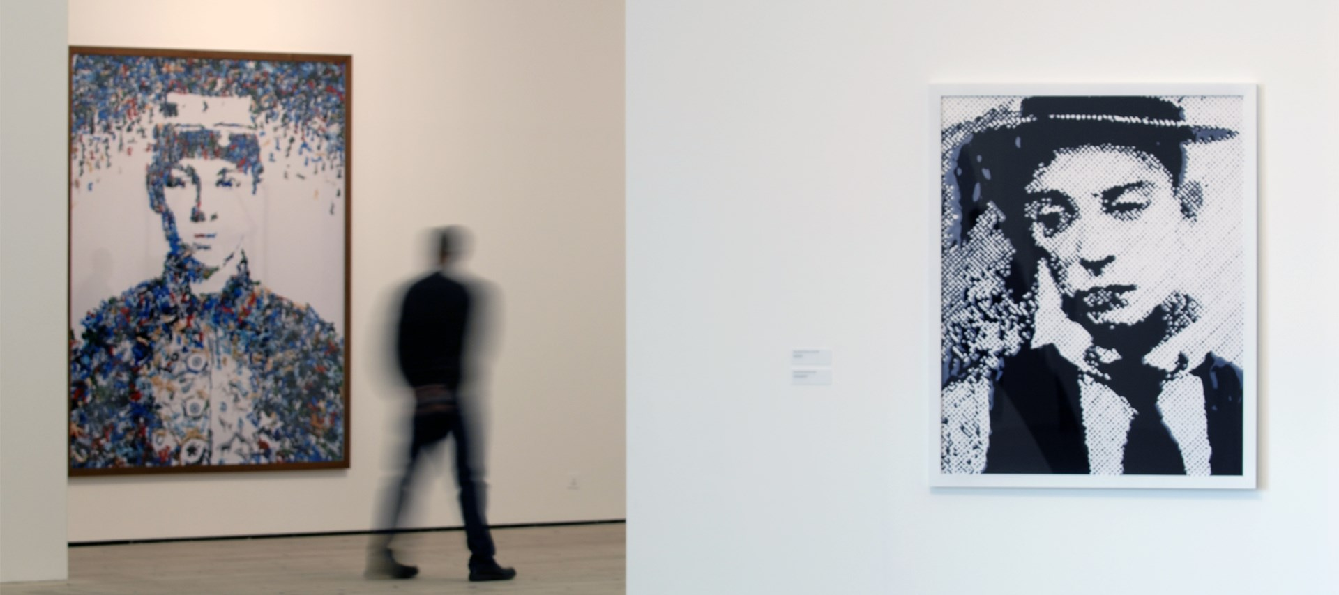 Vik Muniz: Pictures of People: Installation shot by Colin Davison