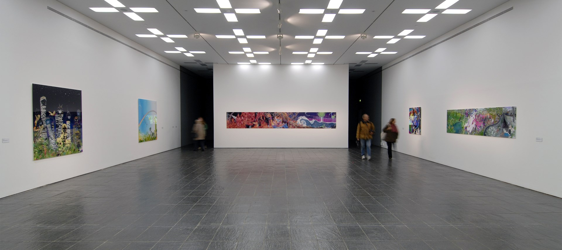 Chiho Aoshima: Installation Image by Colin Davison
