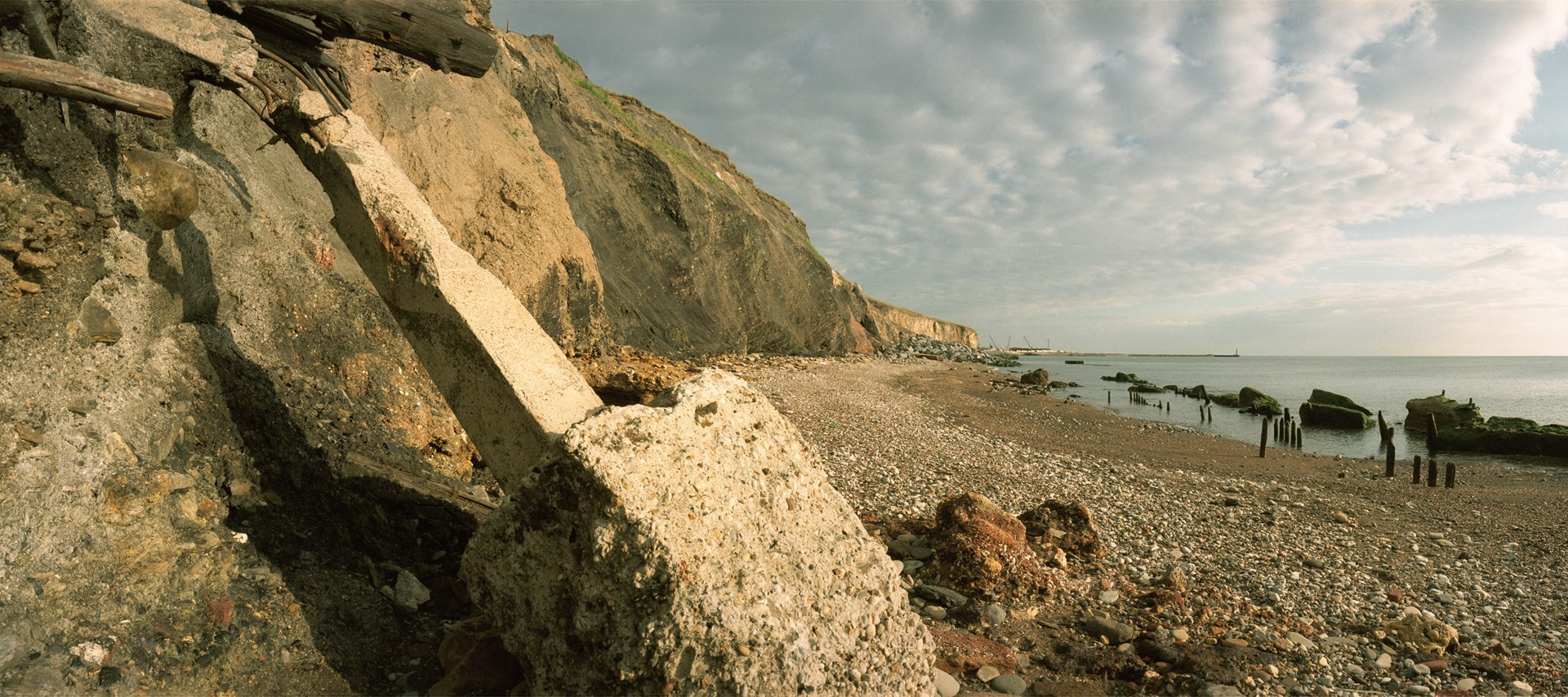 Sirkka-Liisa Konttinen : The Coal Coast, Dawdon, morning 12 June, 2002