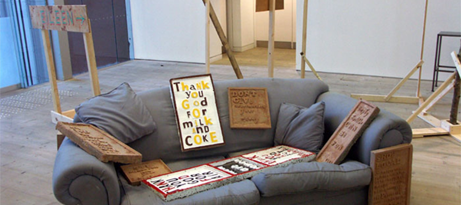 Bob and Roberta Smith: Help Build the Ruins of Democracy (18)