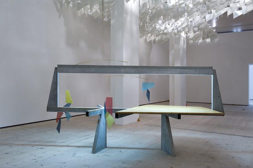 Turner Prize 2011: Martin Boyce: Exhibition Image (01)
