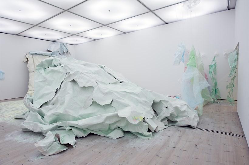 Turner Prize 2011: Karla Black: Exhibition Image (01)