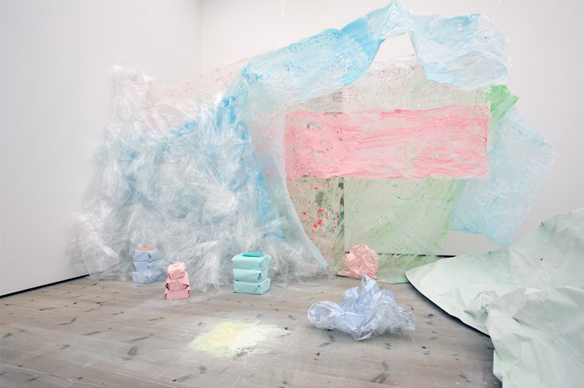 Turner Prize 2011: Karla Black: Exhibition Image (03)