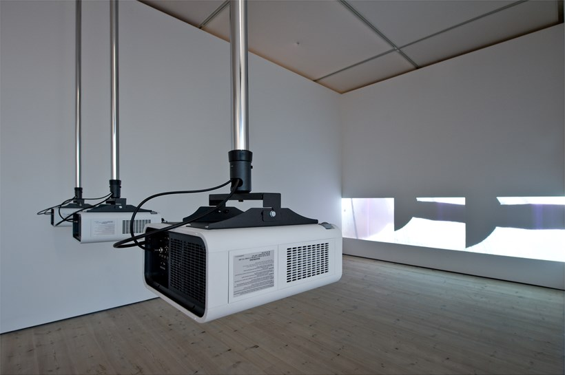Turner Prize 2011: Hilary Lloyd: Exhibition Image (01)