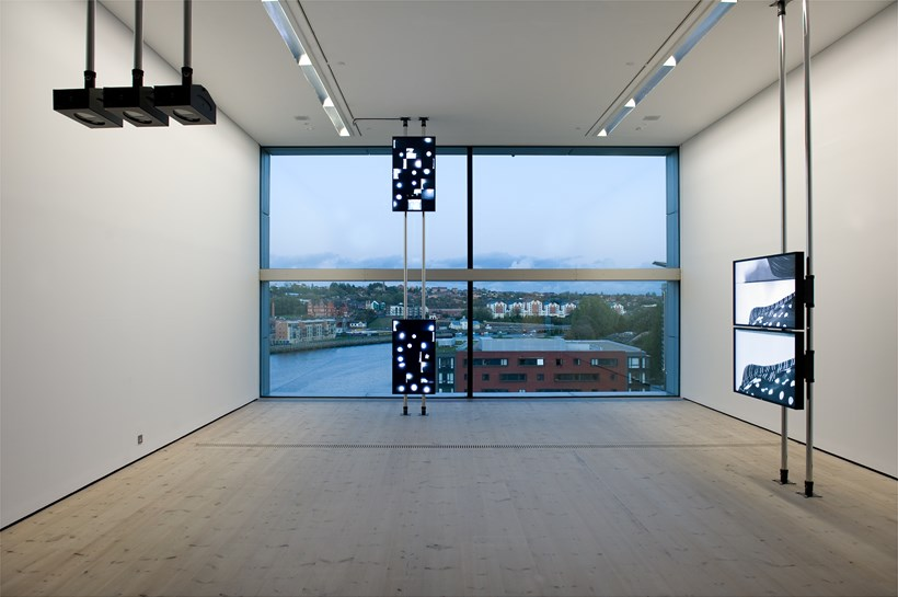 Turner Prize 2011: Hilary Lloyd: Exhibition Image (03)