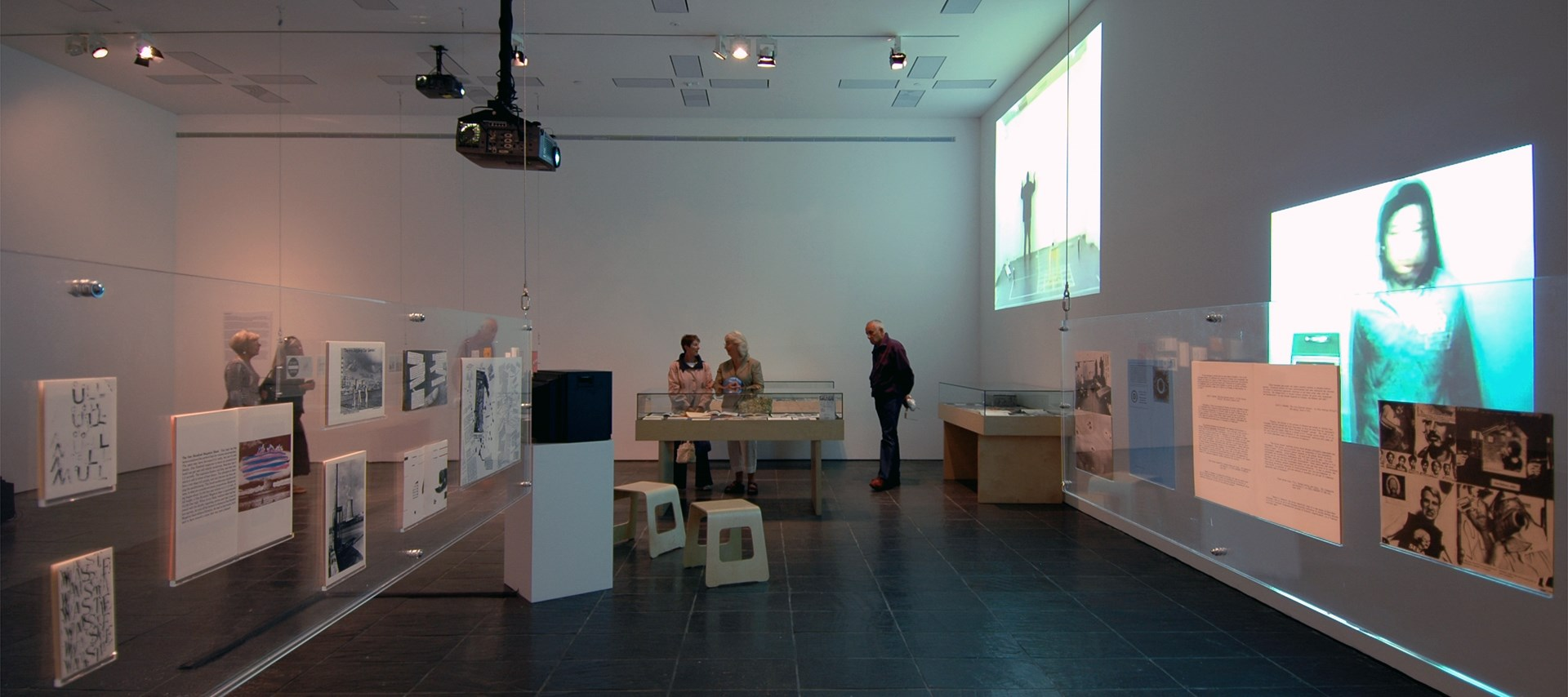 History of Disappearance exhibition at BALTIC: Installation shot (36)