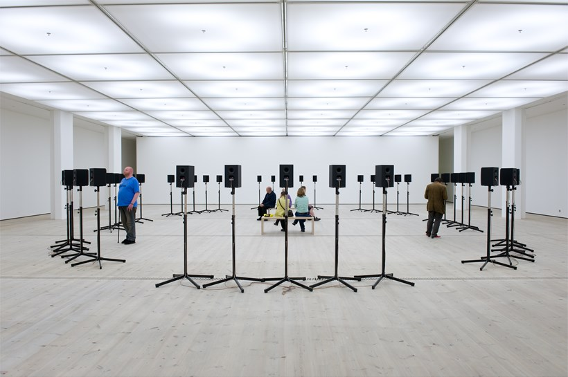 Janet Cardiff: Forty Part Motet: Exhibition Image (02)