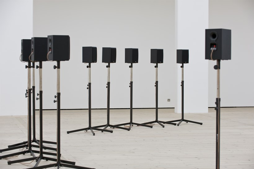 Janet Cardiff: Forty Part Motet: Exhibition Image (03)