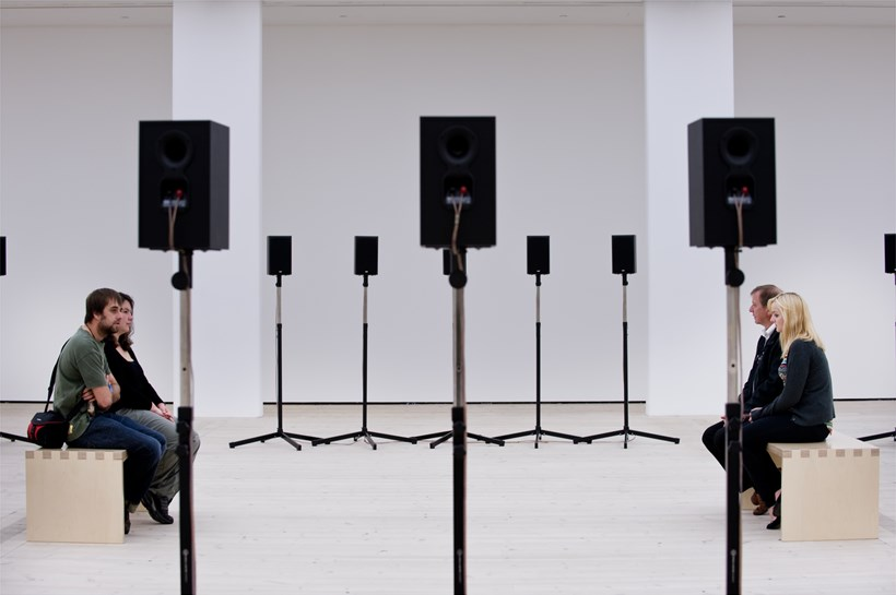 Janet Cardiff: Forty Part Motet: Exhibition Image (04)