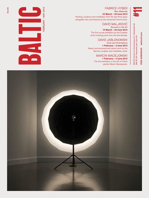 BALTIC What's On Guide (13/01) February - May 2013