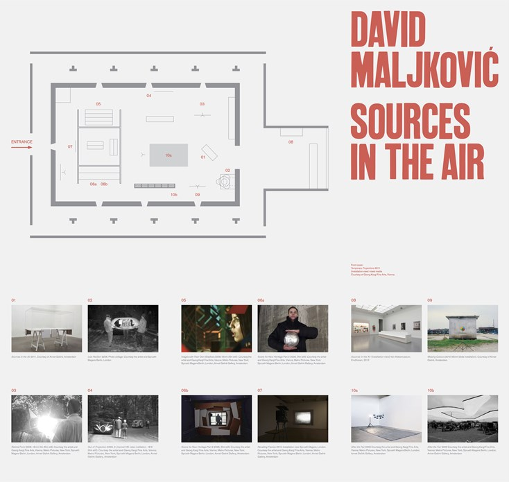David Maljkovic: Sources in the Air: Exhibition Guide